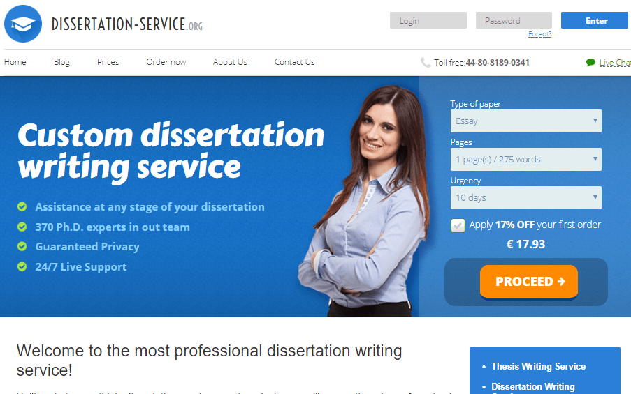 Dissertation Service